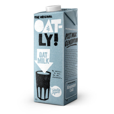 Oatly Original Oat Milk 1lt