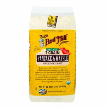 Bob's Red Mill Organic 7 Grain Pancake and Waffle Mix (737g)