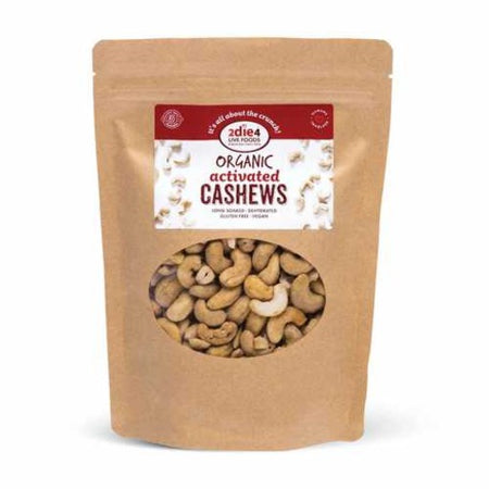 2die4 Live Foods Organic Activated Cashews (300g)