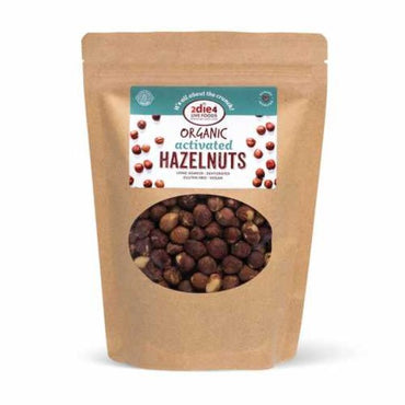 2die4 Live Foods Organic Activated Hazelnuts (300g)