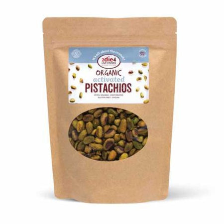 2die4 Live Foods Organic Activated Pistachios (100g)