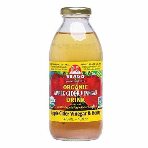 Bragg Organic Apple Cider Vinegar Drink with Honey (475ml)