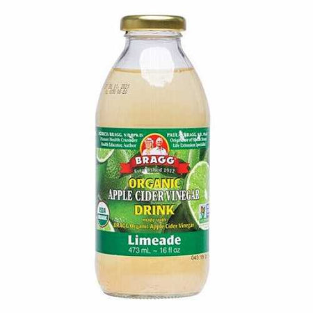 Bragg Organic Apple Cider Vinegar Drink with Limeade (473ml)