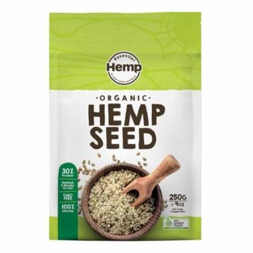 Essential Hemp Organic Hemp Seeds Hulled (250g)