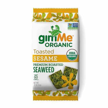 Gimme Roasted Seaweed Snacks Sesame (10g)