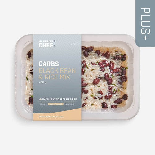 My Muscle Chef - PLUS + | CARBOHYDRATES Black Bean & Rice Mix