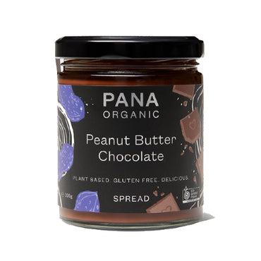 Pana Organic Peanut Butter Chocolate Spread 200g