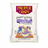 Proper Crisps Cracked Pepper & Sea Salt 150g