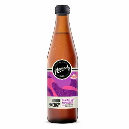 Remedy Blackberry Kombucha Good Energy 330ml
