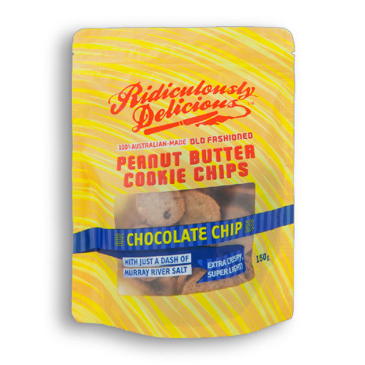 Ridiculously Delicious Peanut Butter Cookie Chips Chocolate Chip