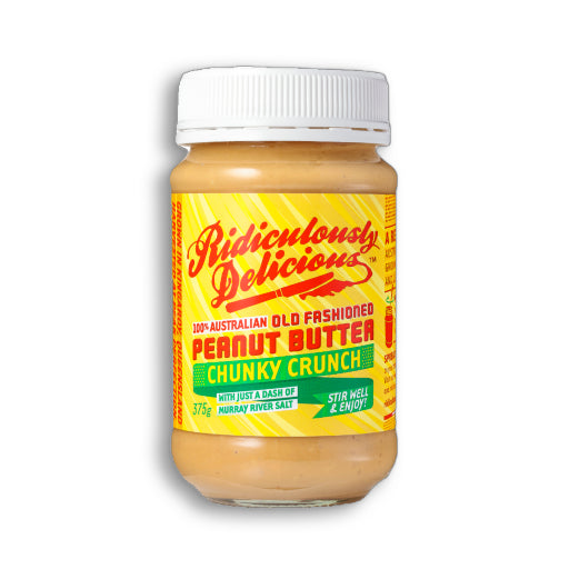 Ridiculously Delicious Chunky Crunch Peanut Butter