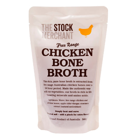 The Stock Merchant - Free Range Chicken Bone Broth 500g
