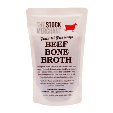 The Stock Merchant - Grass Fed Beef Bone Broth 500g