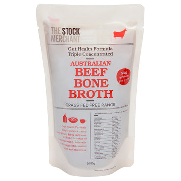 The Stock Merchant - Gut Health Beef Bone Broth 500g