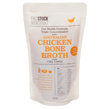 The Stock Merchant - Gut Health Chicken Bone Broth 500g