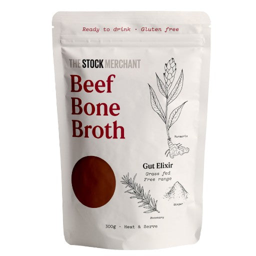 The Stock Merchant - Ready to drink Beef Bone Broth 300g