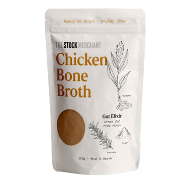 The Stock Merchant - Ready to drink Chicken Bone Broth 300g