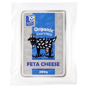 Viking Organic Feta Goat Milk Cheese 200g