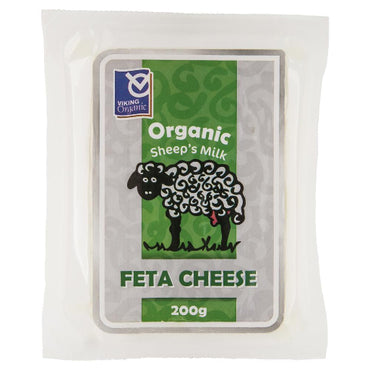 Viking Organic Feta Sheep Milk Cheese 200g