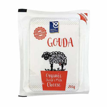 Viking Organics Sheep Milk Gouda Cheese 200g