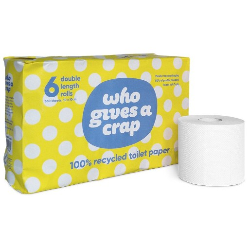 Who Gives a Crap Toilet Roll (6 pack)