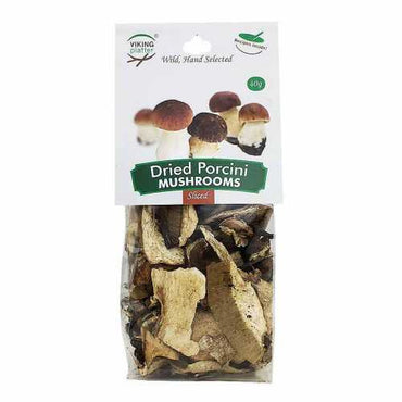 Viking Wild Porcini Mushrooms Sliced