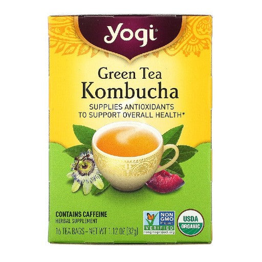 Green Tea Kombucha Tea (16 bags)