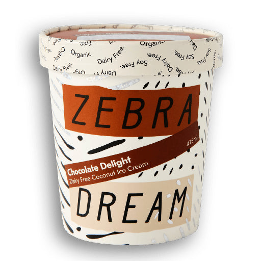 Zebra Dream Chocolate Delight Ice Cream 475ml