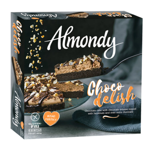 Almondy Choco Delish Vegan Cake 10pcs