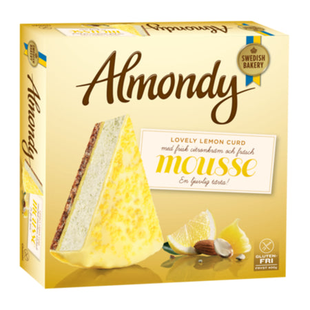 Almondy Lemon Curd Mousse Cake 10pcs - 400g