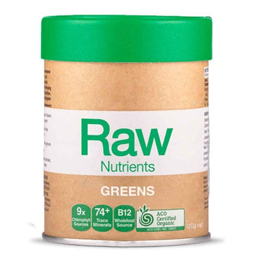 Amazonia Raw Prebiotic Greens - Mint & Vanilla (120g)