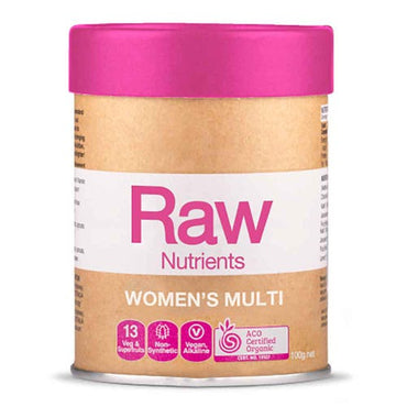 Amazonia Raw Nutrients Women's Multi - Vanilla & Passionfruit (100g)