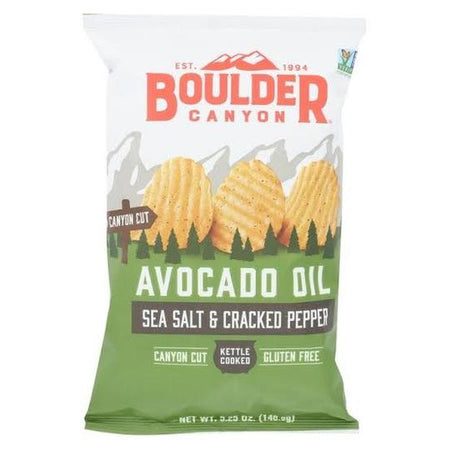 Avocado Oil Sea Salt & Cracked pepper Chips (149g)