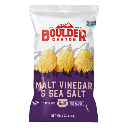 Malt Vinegar & Sea Salt Chips (142g)