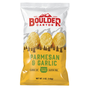 Parmesan & Garlic Chips (142g)
