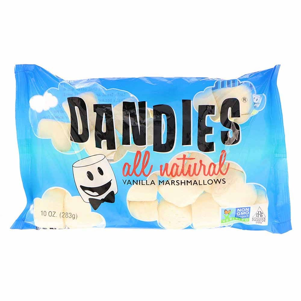 Dandies Vegan Vanilla Marshmallows Regular Size (283g)