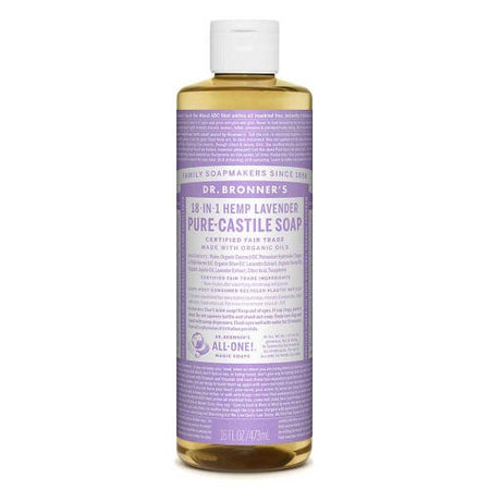 Dr Bronner's Liquid Soap - Lavender (473ml)