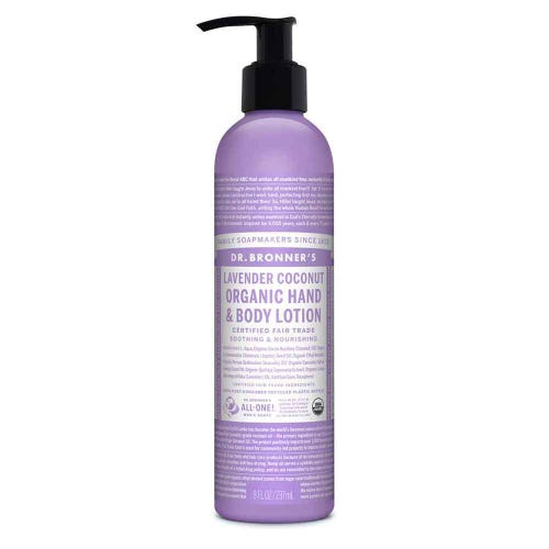 Dr Bronner's Hand & Body lotion - Lavender & Coconut (237ml)