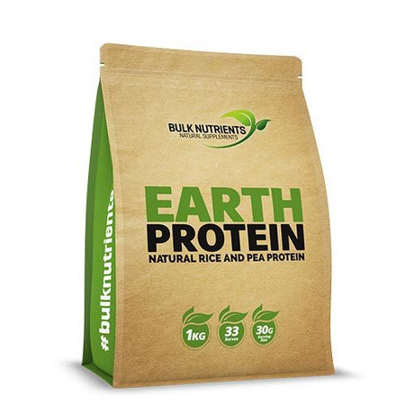 Bulk Nutrients Earth Vegan Protein Vanilla (1kg)