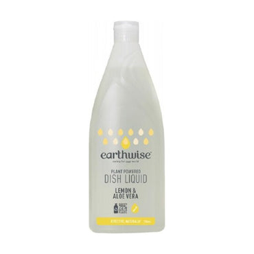 Earthwise Dish Liquid Lemon & Aloe Vera (750ml)