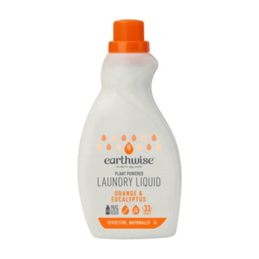 Earthwise Laundry Liquid Orange & Eucalyptus (1L)