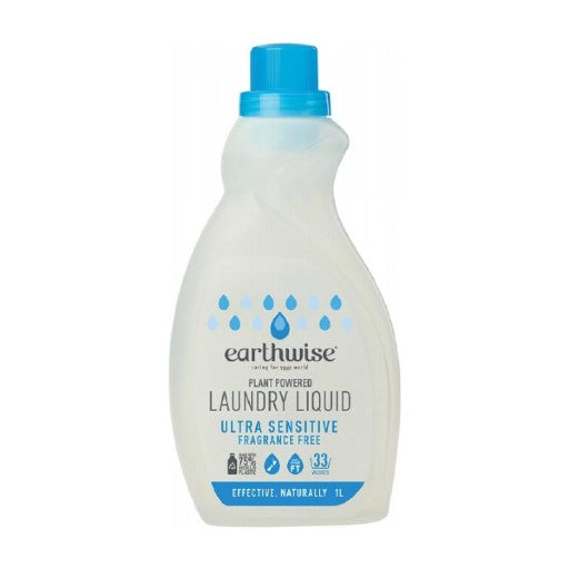 Earthwise Laundry Liquid Fragrance Free (1L)