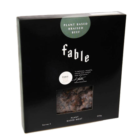Fable Plant Based Braised Beef 250g