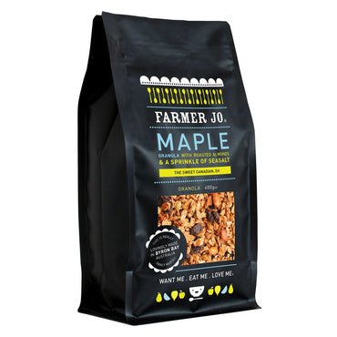 Farmer Jo - Maple Granola with Almonds & Sea Salt 400g
