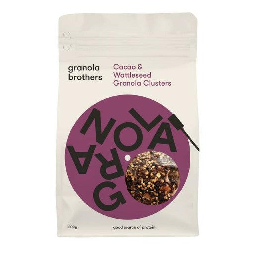 Cacao & Wattleseed Granola Clusters (300g)