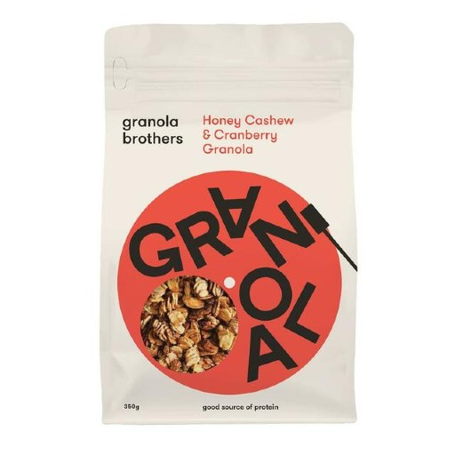Honey Cashew & Cranberry Granola (350g)