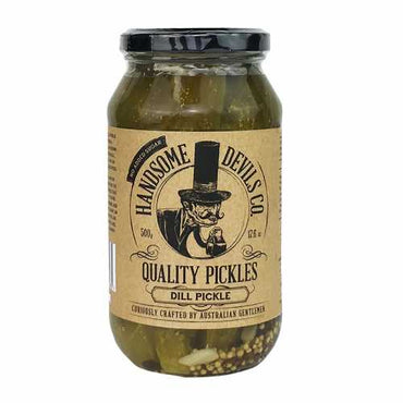 Handsome Devils Co Pickles Original Dill 500g
