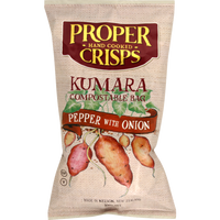 Proper Crisps Kumara Pepper & Onion 100g