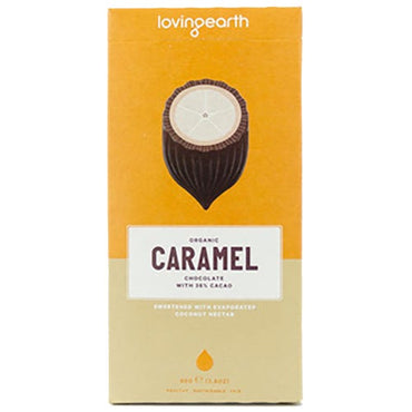 Loving Earth Caramel Organic Chocolate (80g)