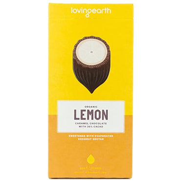 Loving Earth Lemon Cheesecake Caramel Choco (80g)